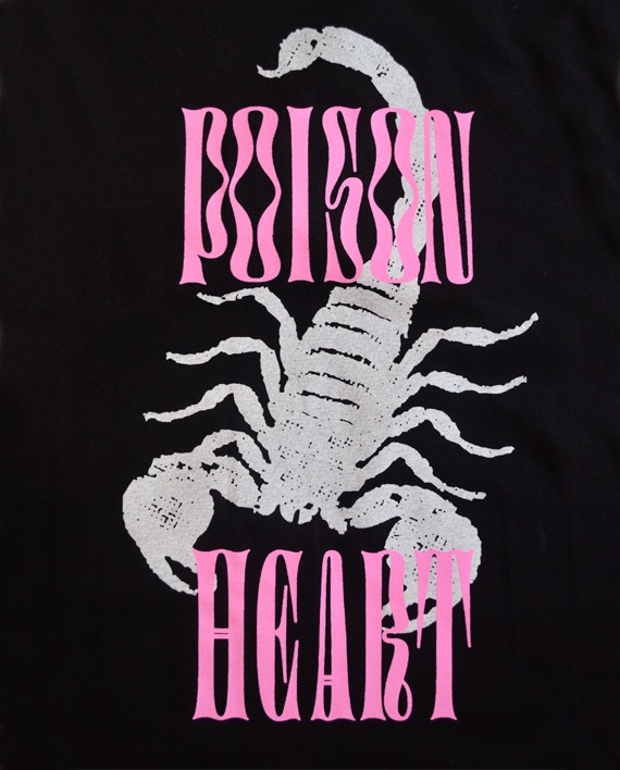 CAMISETA POISON HEART