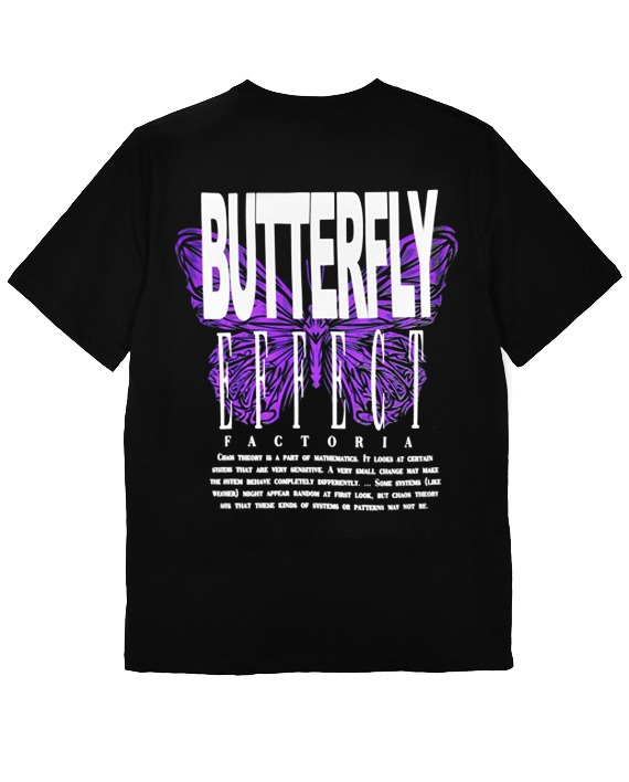 CAMISETA __BUTTERFLY EFFECT