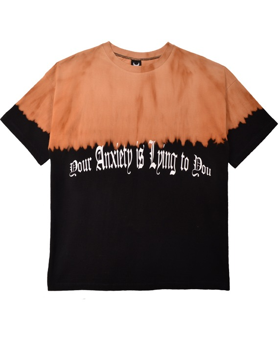CAMISETA OVERSIZED __ANXIETY PRETO EXPERIMENTAL