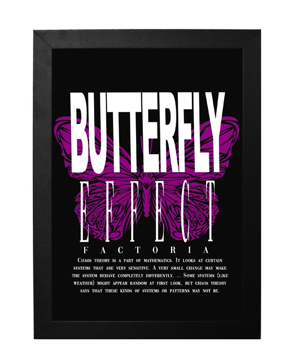 QUADRO _BUTTERFLY EFFECT