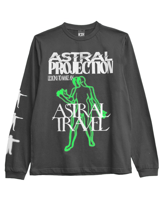 CAMISETA MANGA LONGA __ASTRAL PROJECTION CHUMBO